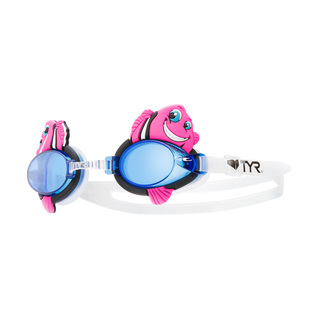 Tyr Charactyrs Happy Fish Kids Swim Goggles product image