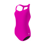 Tyr Women's Pink Halter Controlfit Swimsuit