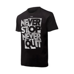 Tyr Never Stop Graphic Tee Male