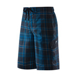 Speedo Crosscut Plaid E-Board Short Male