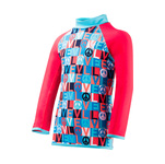 Tyr Peace & Love Durafast Lite Rashguard Girls