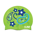 1line Sports Paisley Swim Cap