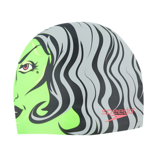 Speedo Night Swimmers Silicone Swim Cap product image