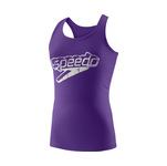 Speedo Front Stacked Logo Tank Female