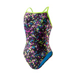 Speedo FlipTurns Spectacular Splatter ProLT Propel Back Female