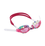 Dolfin Flipper Flowers Youth Swim Goggles