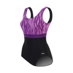 Dolfin Color Block Moderate Swimsuit