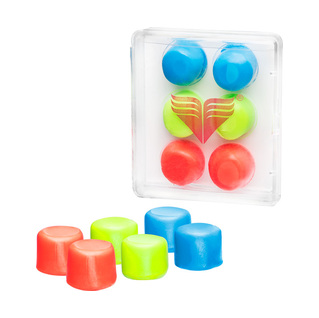 Tyr Youth Multi-Colored Silicone Ear Plugs product image