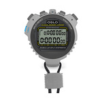 Robic Oslo Silver 60 Dual Split Memory, Countdown Timer and Temperature