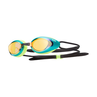 Tyr Black Hawk Racing Mirrored Swim Goggles product image