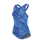 Dolfin Ocean Moderate Print Lap Suit Female