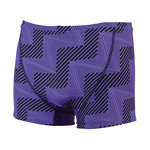 Dolfin Reversible Flash Purple/Yellow Square Leg Male