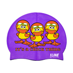 1Line Sports Swim Cap IT'S A CHICK THING
