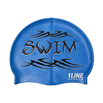 1Line Sports Tribal Silicone Swim Cap