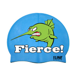 1Line Sports Fierce Silicone Swim Cap