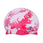 Water Gear Swim Cap PINK FLOWER