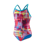 Speedo Flipturns BLUE/RED Print