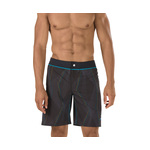 Speedo Laser Lines Packable Boardshort Male