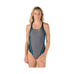 Speedo Heather Quantum Splice One Piece Female