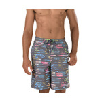 Speedo Tropical Stripe E-Board Short Male