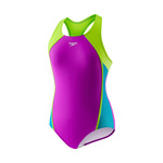 Speedo Girls Swimsuit MESH SPLICE