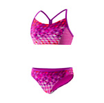 Speedo Girls Illusion Cubes Splice Camikini 2PC