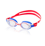 Speedo Red Bright and Blue Bullet Swim Goggles