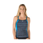 Speedo Texture Endurance Lite Double Strap Tankini Top Female