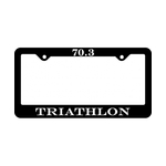 Bay Six 70.3 License Plate Frame