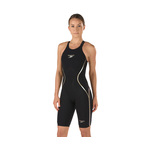 LZR Racer X Kneeskin Open Back Black/Gold