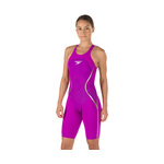 LZR Racer X Kneeskin Open Back Deep Purple