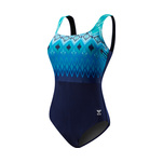 Tyr Baltic Stripe Durafast Elite Aqua Controlfit Female