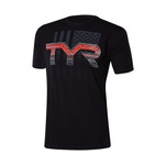 Tyr Land of the Free Graphic Tee Male