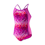Speedo Girls Swimsuit ILLUSION CUBES Splice
