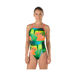 Speedo Turnz MIX GREEN PRINT