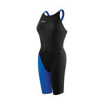 Speedo LZR ELITE 2 Closed Back Kneeskin BLACK/SAPPHIRE