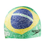 Speedo World Tour Brazil Elastomeric Silicone Swim Cap