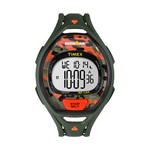 Timex IRONMAN Sleek 50 Lap Full Size Watch Green/Orange Camo