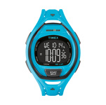 Timex IRONMAN Sleek 50 Lap Full Size Watch Neon Blue