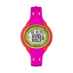 Timex IRONMAN Sleek 50 Lap Mid Size Watch Pink Color Block