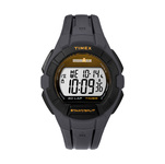 Timex IRONMAN Essential 30 Lap Full Size Watch Black/Orange