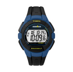 Timex IRONMAN Essential 30 Lap Full Size Watch Blue/Yellow