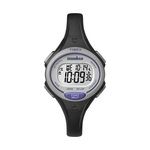 Timex IRONMAN Essential 30 Lap Mid Size Watch Black/Purple