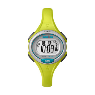 Timex IRONMAN Essential 30 Lap Mid Size Watch Lime product image