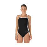 Speedo Solid Polyester Flyback Female