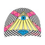 Speedo Geos and Gemstones Pink Flame Silicone Swim Cap