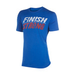 Tyr Finish Strong Graphic Tee Male