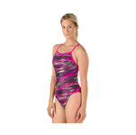 Speedo Fragments Powerflex Eco Drill Back Female