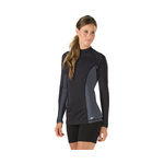 Speedo Rash Guard SOLID Long Sleeve Female