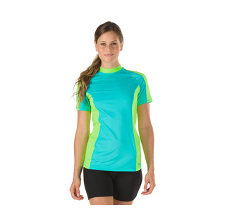 Speedo Solid Short Sleeve Rashguard Female product image